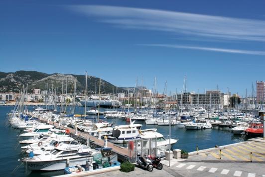 Toulon - Darse Nord du Mourillon