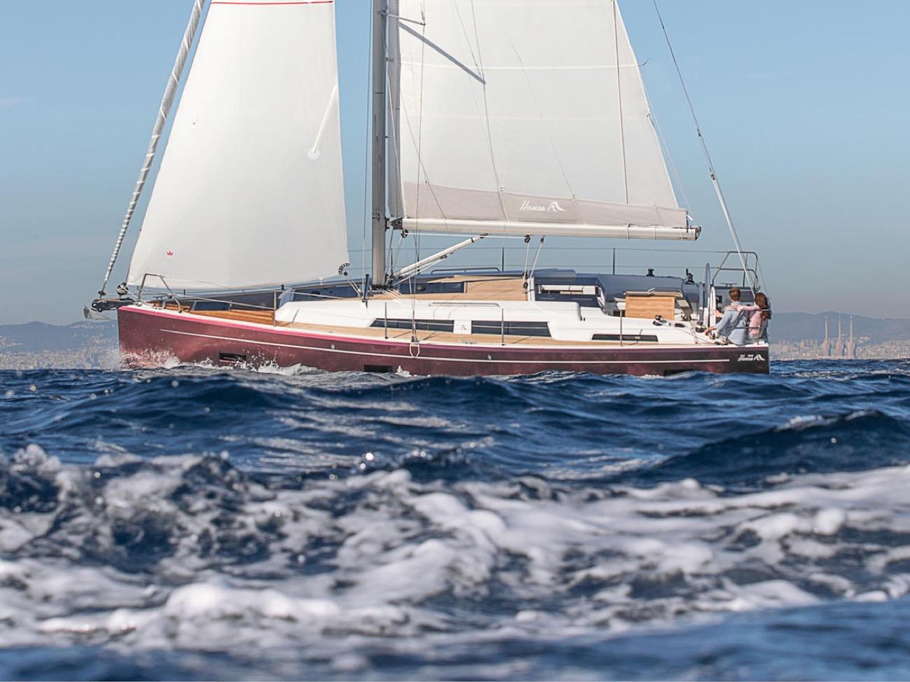 voilier Hanse 388