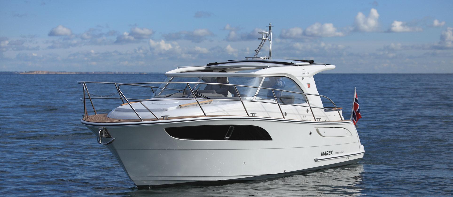 Marex 310 Sun Cruiser de Yannick LAVOINE