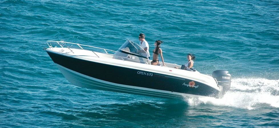 Pacific Craft 670 Open de