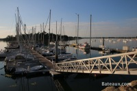 Ponton dans le port de Loctudy (29)