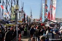 L'ambiance sur le ponton du Vendée Globe 2016 - 2