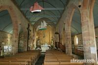 Intérieur de la chapelle Notre-Dame de Rumengol à Camaret
