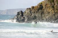 Surfeurs en bretagne - La Palue (29)