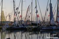 Les voiliers du Vendée Globe 2016 aux Sables d'Olonne