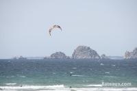Kite surf à la Palue devant les Tas de Pois (29)