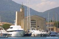 Eglise au coeur de Port Grimaud