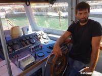 Vincent - Chef mécanicien sur SNS 063 CTC L'Herminier II de Bonifacio
