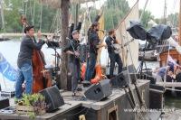 Groupe de musique sur le festival de Loire 2013
