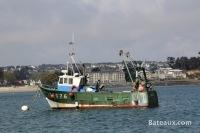 Bateau de pêche au coffre