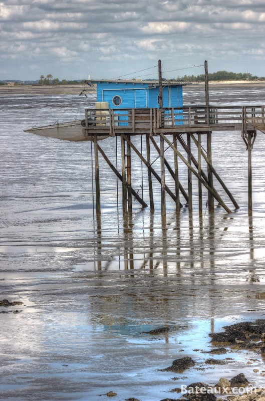 Photo Pêche au Carrelet sur la Charente