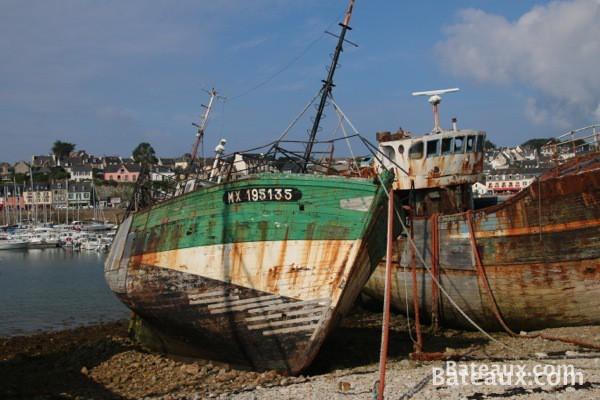 Photo Vieux bateaux à Camaret sur mer