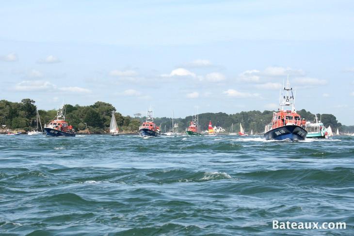 Photo La flotille SNSM pour ses 50 ans