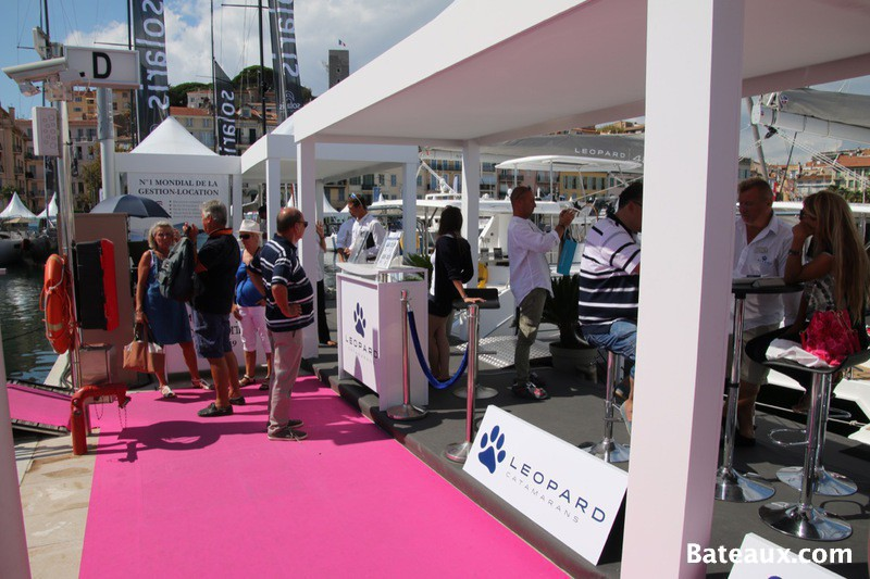 Photo Leopard Catamarans - Cannes Yachting Festival 2015