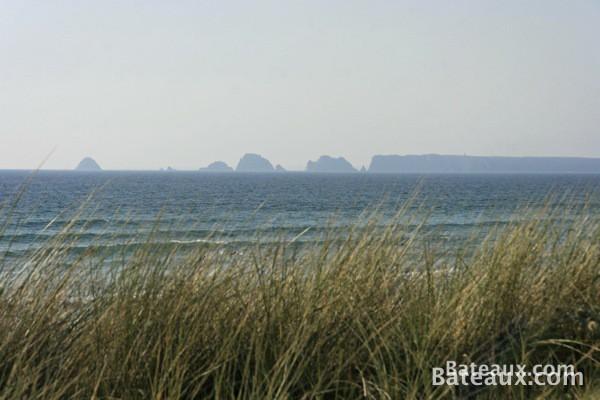 Photo Les Tas de Pois vus des dunes de la Palue