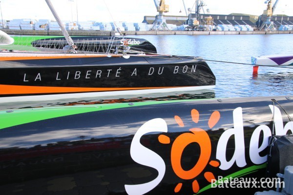 Photo Sodebo Ultim avant le départ de la Route du Rhum - 16