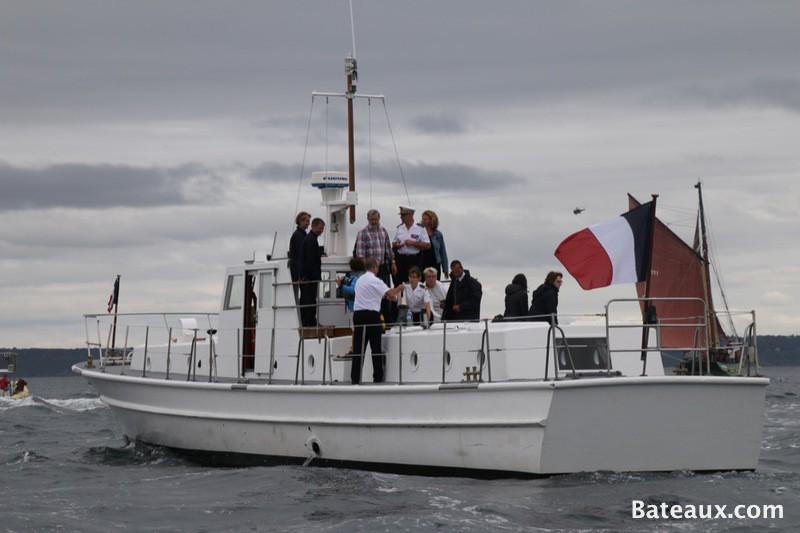 Photo Vedette du vice Amiral de l'école Navale