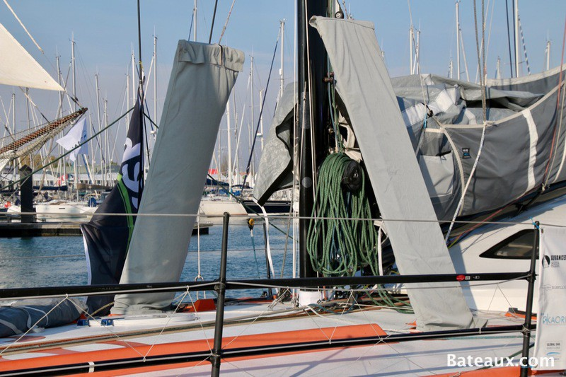 Photo Foils de l'IMOCA One planet One ocean de Didac Costa