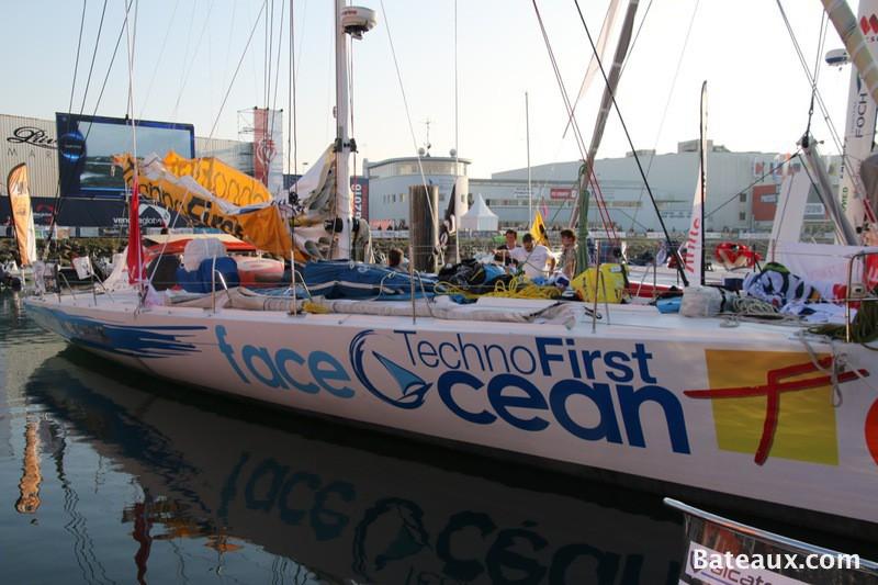 Photo Préparation de TechnoFirst - faceOcean pour le Vendée Globe
