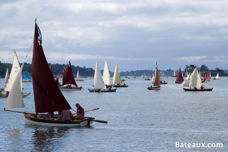 Photo La flottille voile aviron