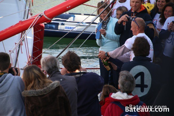 Photo Baptême de l'IMOCA Imagine d'Armel Tripon - 9