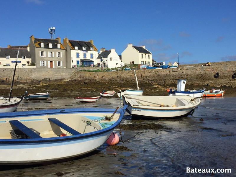 Photo Port de Molène à marée basse - 5