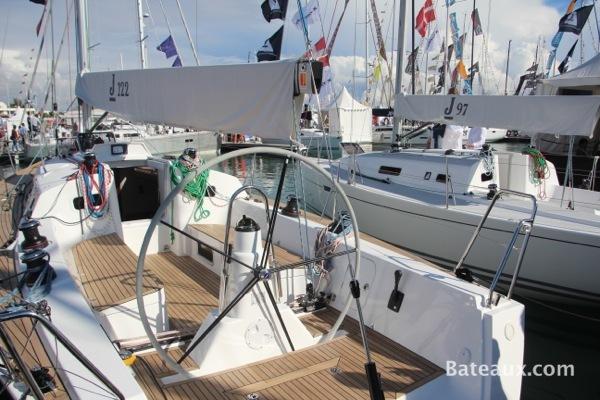 Photo Jboats présente le J122 au Gran Pavois 2013