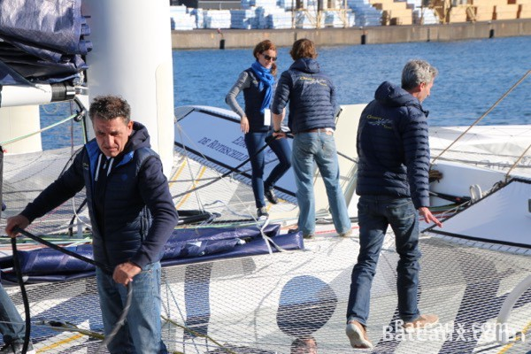Photo Sébastien Josse sur Gitana XV d'Edmond de Rothschild - 4