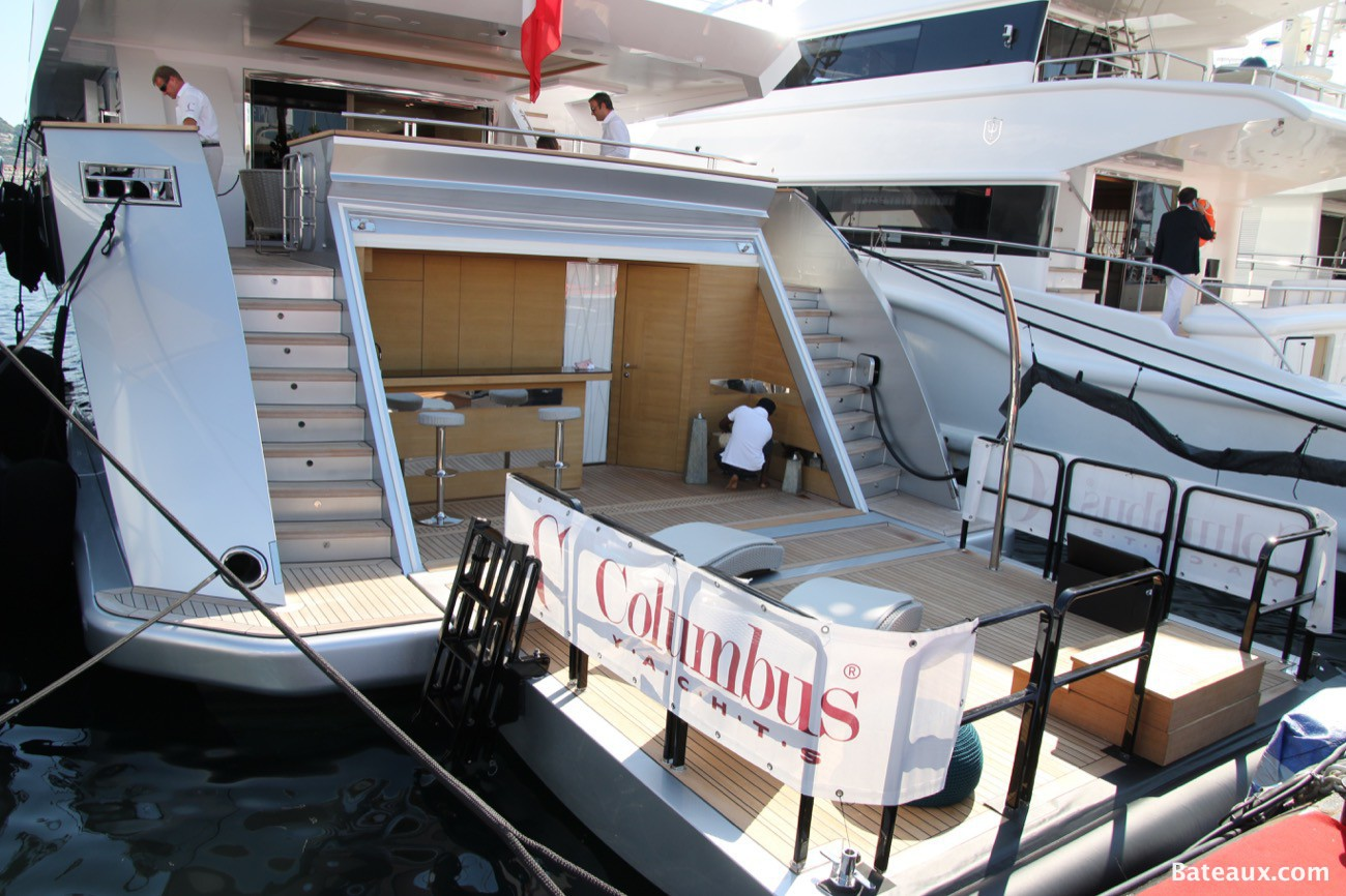 Photo Columbus yachts - Cannes Yachting festival 2015