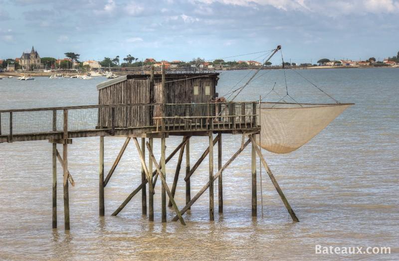 Photo Pêche au Carrelet au bord de la Charente