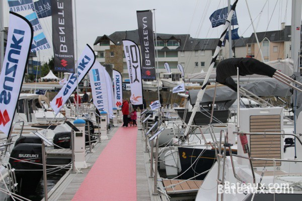Photo Beneteau au Printemps du Crouesty 2014