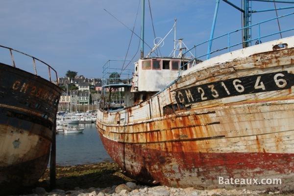 Photo Cimetière à bateaux de Camaret