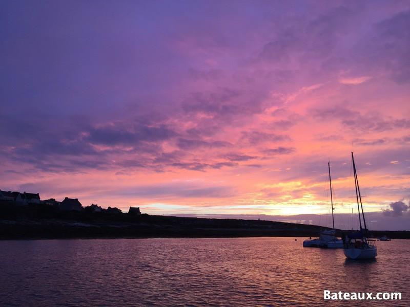 Photo Coucher de soleil sur l'île de Molène (29)