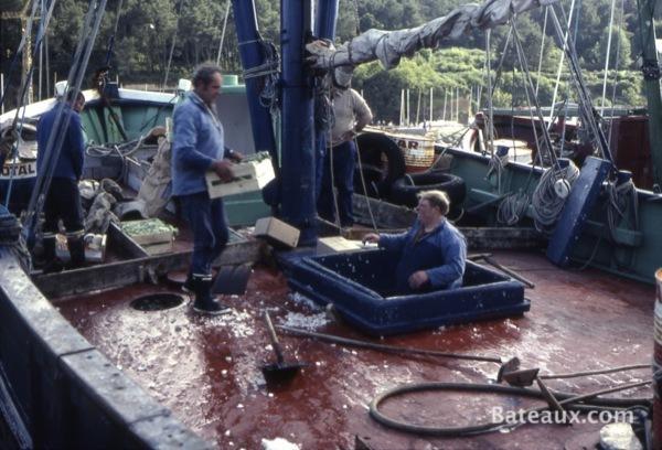 Photo Situation de pêche en 1977