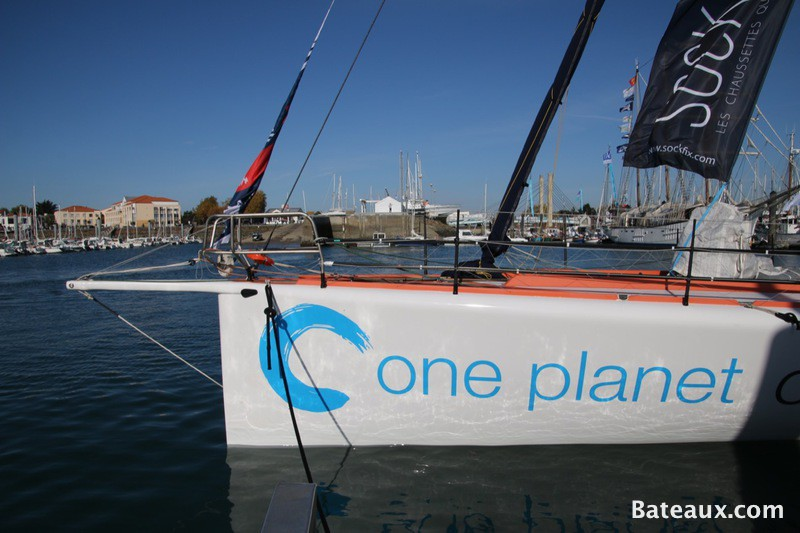 Photo Didac Costa avec One planet One ocean