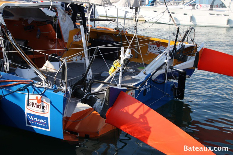 Photo Safrans du voilier StMICHEL-VIRBAC