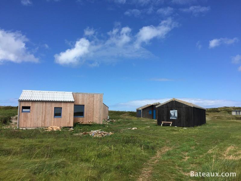 Photo Cabanes de goémonier sur le Ledenez de Molène