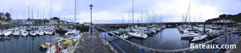 Photo Panoramique de l'Ile de Groix - Port-Tudy