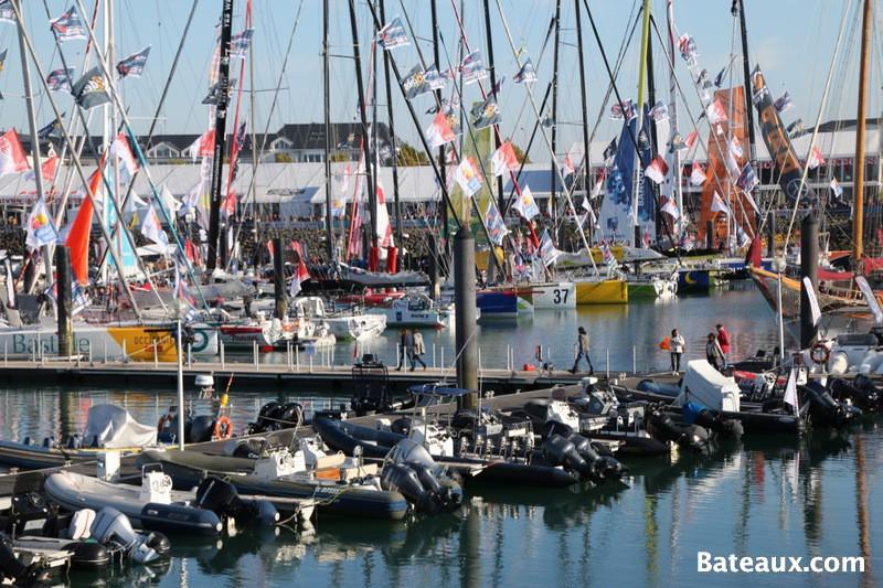 Photo L'ambiance sur le ponton du Vendée Globe 2016 - 3
