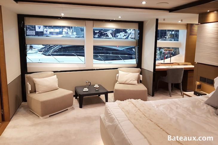 Photo Cabine propriétaire Princess 35 M de Princess Yachts