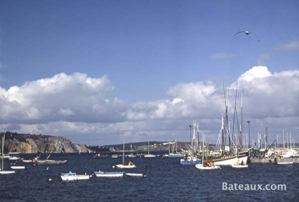 Photo Port de Morgat (29) en 1977
