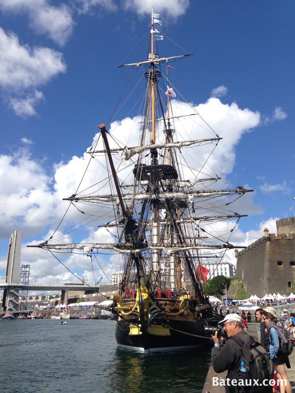 Photo L'Hermione à Brest 2016