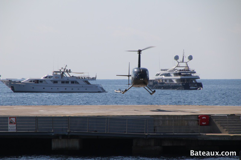 Photo Hélicoptère - Cannes Yachting Festival 2015