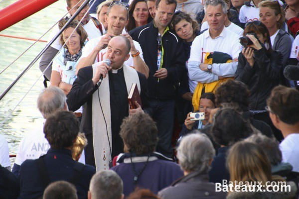 Photo Baptême de l'IMOCA Imagine d'Armel Tripon - 3