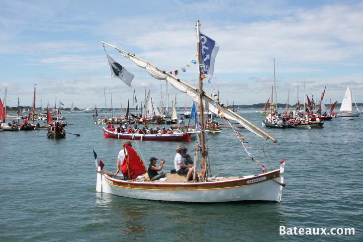 Photo La voile latine est présente aussi en Bretagne