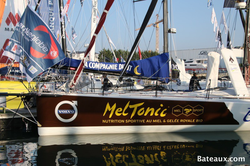 Photo Voilier de Romain Attanasio pour le Vendée Globe 2016