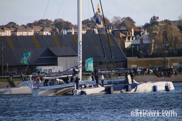Photo Sébastien Josse sur Gitana XV d'Edmond de Rothschild - 5