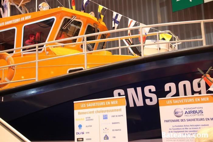 Photo Vedette President JC Fortini de la SNSM du Tréport