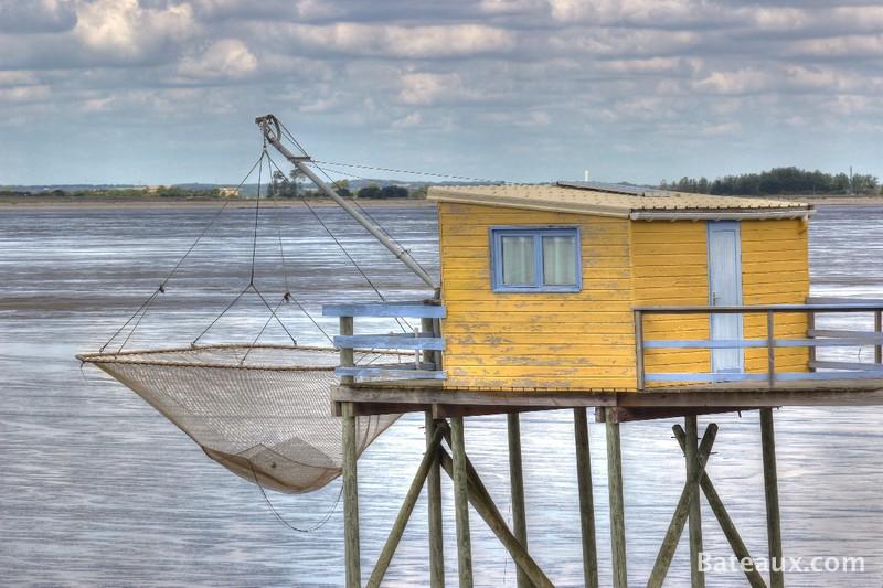 Photo Cabane de pêche sur la Charente