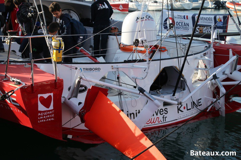 Photo Safran d'Initiatives-Cœur au départ du Vendée Globe 2016